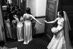 Love this one! High Fives before the big moment!
