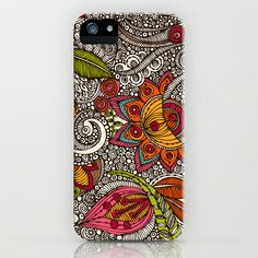 Random Flowers iPhone   iPod Case by Valentina -  35.00. WANT EVEN MORE  THIS IS 1e8a71c84f371