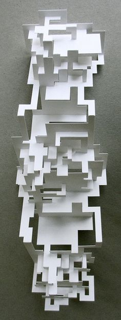 Elod Beregszaszi is a master of paperwork. He cuts, folds, embosses and sculpts out of a material most people don't think twice about.