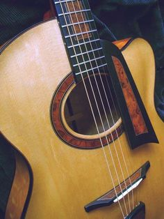 Archtop guitar by Otis A. Tomas (Nova Scotia)... like the pickguard