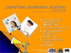 Zientziari buruzko tallerra Legazpiko Udal Liburutegian. 2008 urtea.|Taller sobre la ciencia en la Biblioteca Pública de Legazpi. Año 2008
