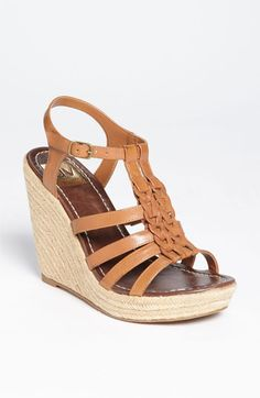 These are great summer shoes that will add height but still be comfortable. As medium brown is the strongest neutral in this palette, these shoes should go with almost all casual/weekend wear in this style profile. DV by Dolce Vita 'Tarry' Sandal (Nordstrom Exclusive) | Nordstrom