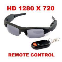 Remote Control HD 1280x720 Spy Camera Sunglasses with 8GB TF Memory Card (Electronics)  http://www.99homedecors.com/decors.php?p=B0076ZW0VO  B0076ZW0VO