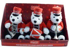 Coca Cola Polar Bear Marching Band - Infrared Interactive Musical Animation