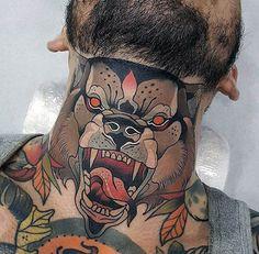 Tatouage cou – il impressionne à tous les coups