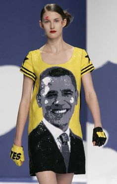Obama and high fashion is a great mix!