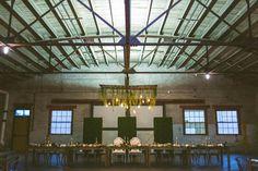 Artisan Alley Garage - wedding venue, special event venue, rustic, wedding décor, Central Florida, indoor space