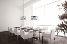 Hanglamp, eetkamer, licht, verlichting, Eikelenboom, Wiro, Wever en Ducre