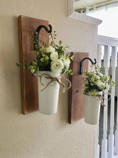 Farmhouse Living Room Decor Hanging Planter with Greenery or Flowers Rustic Wall Decor Sconce with Flowers Country Wall Decor Farmhouse Wall Decor Living Room Country decor farmhouse Flowers greenery Hanging living Planter room Rustic Sconce Wall Country Wall Decor, Rustic Wall Decor, Farmhouse Living Room Decor, Country Living Room Rustic, Tuscan Decor, Entryway Decor, Farmhouse Style Kitchen, Rustic Farmhouse, Farmhouse Ideas