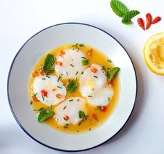 """The Bitten Word quickly summarizes Bon Appetit's Scallop Crudo recipe: """"It's dead easy… It's no-cooking cooking!"""" Simple cooking is our style!"""
