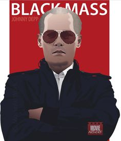 Black Mass - Johnny Depp as James 'Whitey' Bulger Gangster Movies, Mafia Families, Joel Edgerton, South Boston, Black Mass, Kevin Bacon, The Godfather, Dakota Johnson, Pulp Fiction