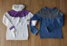 Hers+and+His+Yoke+Sweaters+Pattern