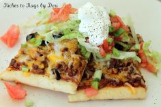 Taco Supreme Pizza. Easy ingredients, easy to make go to family favorite.