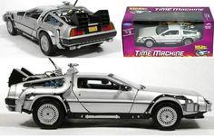 Coche DeLorean de Regreso al Futuro. Sabor, yo quiero uno! (I want one!)