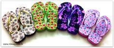 Chinelos Pack  Estampas para chinelos, download grátis.
