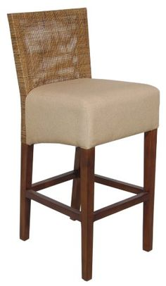 """Crafted Home Lansing Traditional Natural Chair, 18"""" Lengt..."""