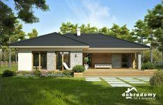 Nela IV - Dobre Domy Flak & Abramowicz Architect Design, Alabama, House Plans, Outdoor Structures, Outdoor Decor, Home Decor, Case, Gallery, Facades