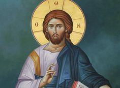 jesus_christ_ Roman Church, Prayer For Family, Orthodox Icons, Holy Spirit, Jesus Christ, Christianity, Spirituality, Portrait, Movie Posters