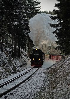 Steam in Winter