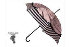 Guy De Jean Umbrella Pink | GLICINE DIVISION | Rakuten Global Market: Dot stripe umbrella (the ...