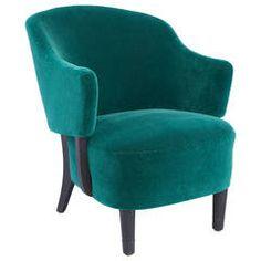 """Mid-Century Armchair, """"Klock Mobler"""" Norway"""