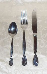KATE SPADE Stainess Steel Name Brand Flatware 13