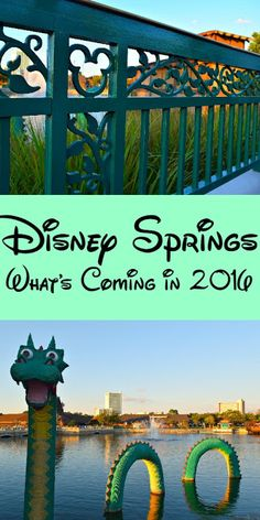 Have You Heard The Great News? Disney Springs Is Expanding In 2016- Again! Disney Springs is adding 30 new stores and restaurants to its Town Center area- and each is worthy of a visit. Opening dates will start rolling out mid-May 2016! Disney World Tips & Tricks  Disney World planning  Walt Disney World tips