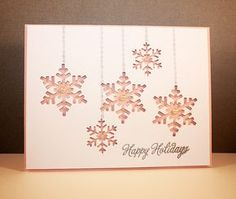 Image result for embossing punch snowflake