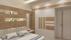 Bedroom Pop Design, Bedroom False Ceiling Design, Wardrobe Design Bedroom, Bedroom Furniture Design, Home Room Design, Tiny House Design, Bed Design, Home Interior Design, Bedroom Designs
