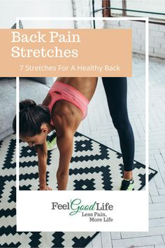 To keep your back moving in all the  directions it needs to, you need to stretch it out regularly. Here are 7 easy-peasy chair stretches you can do at home on your own! Back Stretches For Pain, Lower Back Exercises, Healthy Lifestyle Motivation, Healthy Lifestyle Tips, Piriformis Syndrome, Knee Pain Relief, Sciatic Pain, Senior Fitness, Easy Peasy