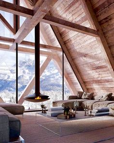 Home Interior Planning Projects. Need to make your house seem like new? Want to improve the attractiveness and sale ability of your home? It can be simpler and less costly than you may realise. A Frame House Plans, A Frame Cabin, Future House, Home Interior Design, Interior Architecture, Modern Interior, Modern Mansion, Modern Houses, Beautiful Homes