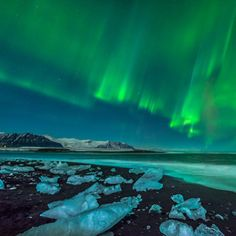 Jökulsárlón Lagoon, Iceland It looks like an alien landscape. And let's be honest – between its black sand, glistening white and blue icebergs, and the occasional glimpse of Aurora Borealis, the coast of Jökulsárlón Lagoon wouldn't be out of place in a sci-fi novel.  www.facebook.com/loveswish