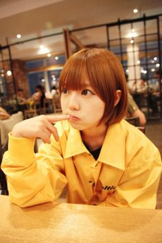Hong Young Gi Ulzzang Fashion, Ulzzang Girl, Gyaru, Best Face Products, Sweet Girls, Japanese Fashion, Cute Hairstyles, How To Look Better, Short Hair Styles