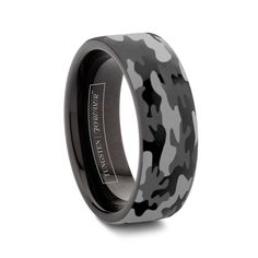 Camo Wedding Rings (Up to OFF) Tungsten Camouflage Wedding Bands for Men Camo Wedding Bands, Black Wedding Rings, Tungsten Wedding Bands, Army Wedding, Engagement Ring For Him, Camo Rings, Camouflage Wedding, Black Tungsten Rings, Rings For Men