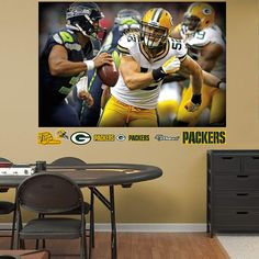 Fathead Green Bay Packers Desmond Howard Graphic   Wall Sticker Outlet |  Football Season 2015 | Pinterest | Desmond Howard And Packers Part 90