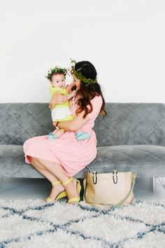 Sandy a la Mode | Mommy + Me Fashion Blogger LulaRoe and Dot Dot Smile - Photographer Lori Romney Photography