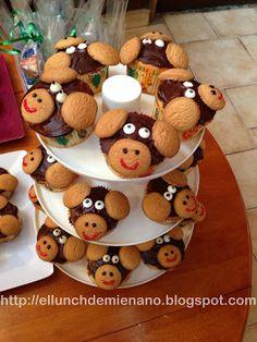 Quecos de chango / Monkey cupcakes!