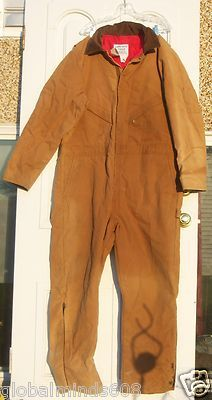 Coveralls Zero Zone_ available at Ebay Globalminds608--while it last.