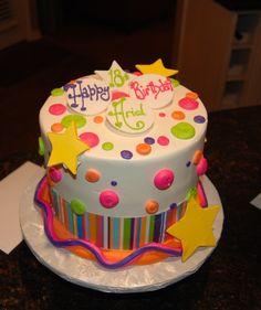 Ariel's 18th birthday cake!