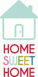 Silhouette Design Store - View Design #74334: home sweet home