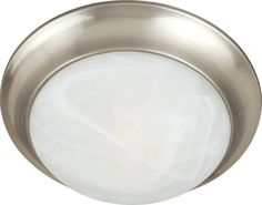 "Maxim 5851 2 Light 14"" Wide Flush Mount Ceiling Fixture from the Essentials - 58"
