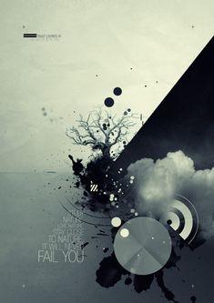 21 Posters criativos para inspiração | Criatives | Blog Design, Inspirações, Tutoriais, Web Design