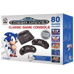 SEGA Wireless Mega Drive / Genesis Retro Console 80 Video Games