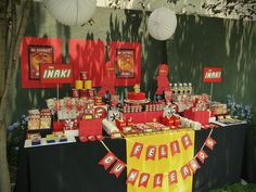 "Photo 12 of 47: Lego Ninjago / Birthday ""NINJAGO IÑAKI´S 5 PARTY"" 