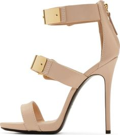 64.60$  Buy now - http://alicmo.shopchina.info/go.php?t=32786497122 - Fashion high heel sandals women super high thin heels open toe metal decoration cutouts women solid casual&party shoes khaki  64.60$ #buychinaproducts
