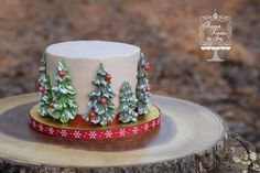 Evergreen Smash - Cake by Joy Thompson at Sweet Treats by Joy