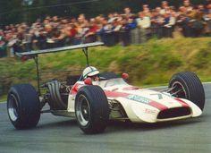 John Surtees, Honda, 1968 British Grand Prix, Circuit of Brands Hatch #F1_GP Packages ~ http://VIPsAccess.com