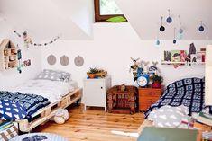 Vintage for kids, kids room, kids deco, Baby Bedroom, Kids Bedroom, Bedroom Decor, Kids Rooms, Room Kids, Shared Rooms, Interior Exterior, Kid Spaces, Boy Room