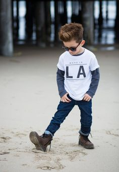 Made+in+LA+Toddler+Tee+by+BlakcApparel+on+Etsy,+$24.00