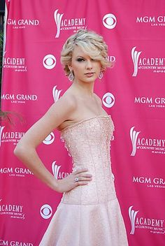 Taylor Swift 42nd ACM front view long